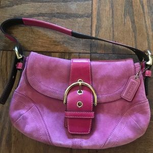 Hot Pink Authentic Coach Bag